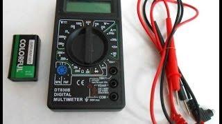 видео Мультиметр dt 838: инструкция по применению