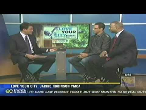 "Rock Church - KFMB News 8: ""Love your City: Jackie Robinson YMCA"""