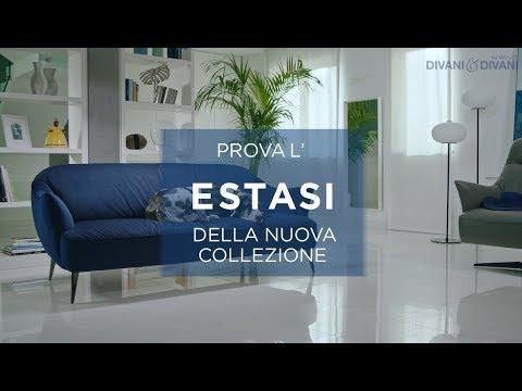 Divani&Divani by Natuzzi - Divano ESTASI - YouTube
