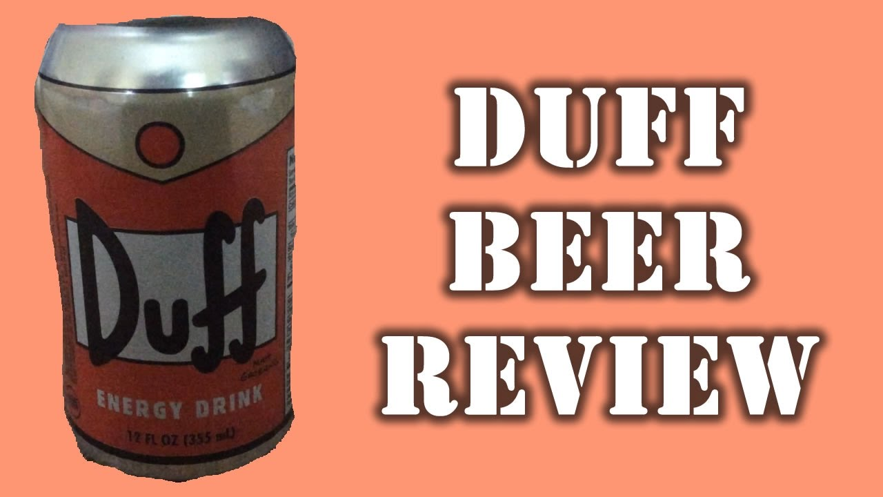Duff Energy Drink Review