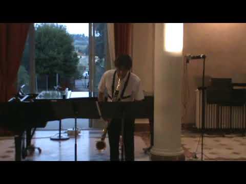 Paolo De Gaspari  Daniel Bimbi «  Eixerit for bass clarinet solo »