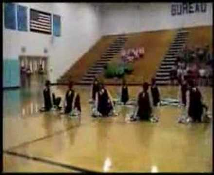 Stark County Dance Team - Bureau Valley Competition