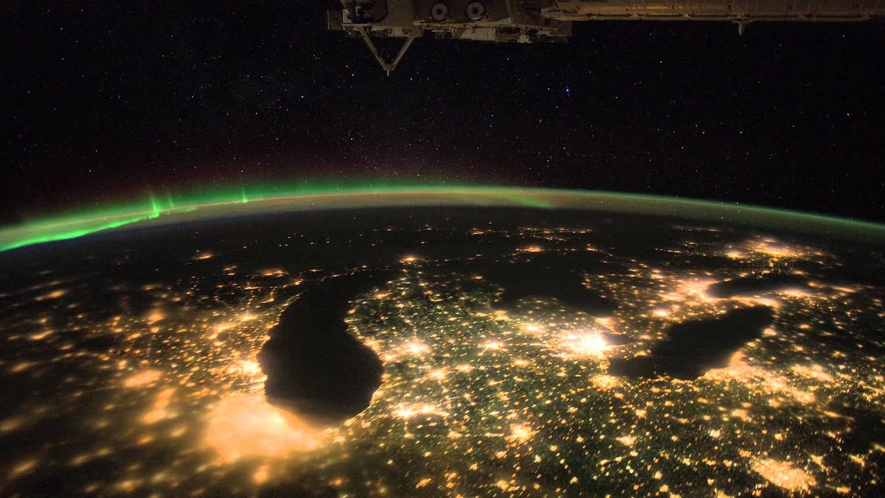 Seeing earth from space new international space station for Time to space
