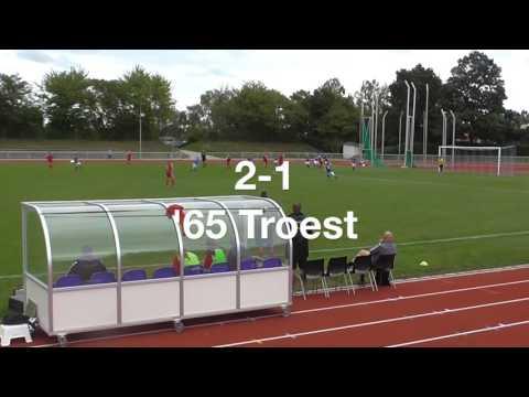 1. Division: målene fra Greve vs. Damsø kampen