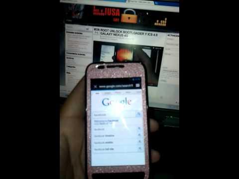 Samsung fascinate galaxy i500 3g iusacell ics y rooteado