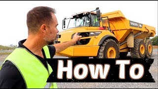 How to get Started running Heavy equipment, Excavating, Landscaping, Construction & outdoor services