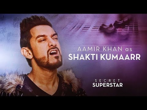 Aamir Khan as Shakti Kumaarr | Secret Superstar | 19 Oct | Zaira Wasim | Amit Trivedi
