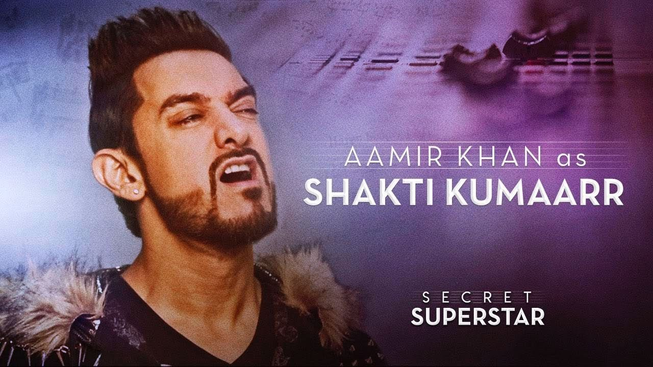 Aamir Khan As Shakti Kumaarr Secret Superstar 19 Oct Zaira