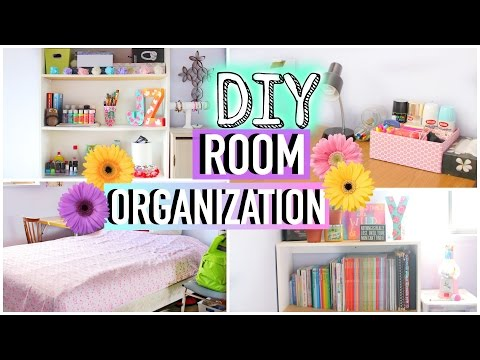 How to Clean Your Room! DIY Room Organization and Storage Ideas | JENerationDIY