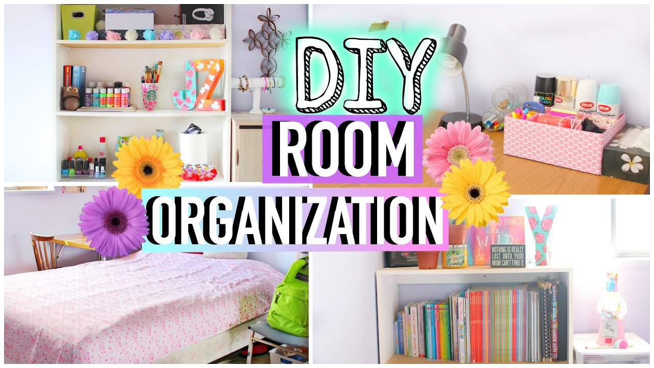 Charming How To Clean Your Room! DIY Room Organization And Storage Ideas |  JENerationDIY   YouTube