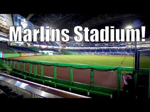 Red Coach To Miami & Miami Marlins Stadium! Moving Out To Travel The World!