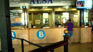 アキーラさん利用①スペイン・バルセロナ→アンドラ行きバス!バルセロナ北バスターミナル!Barcelona-North-Bus-terminal,Barcelona,Spain