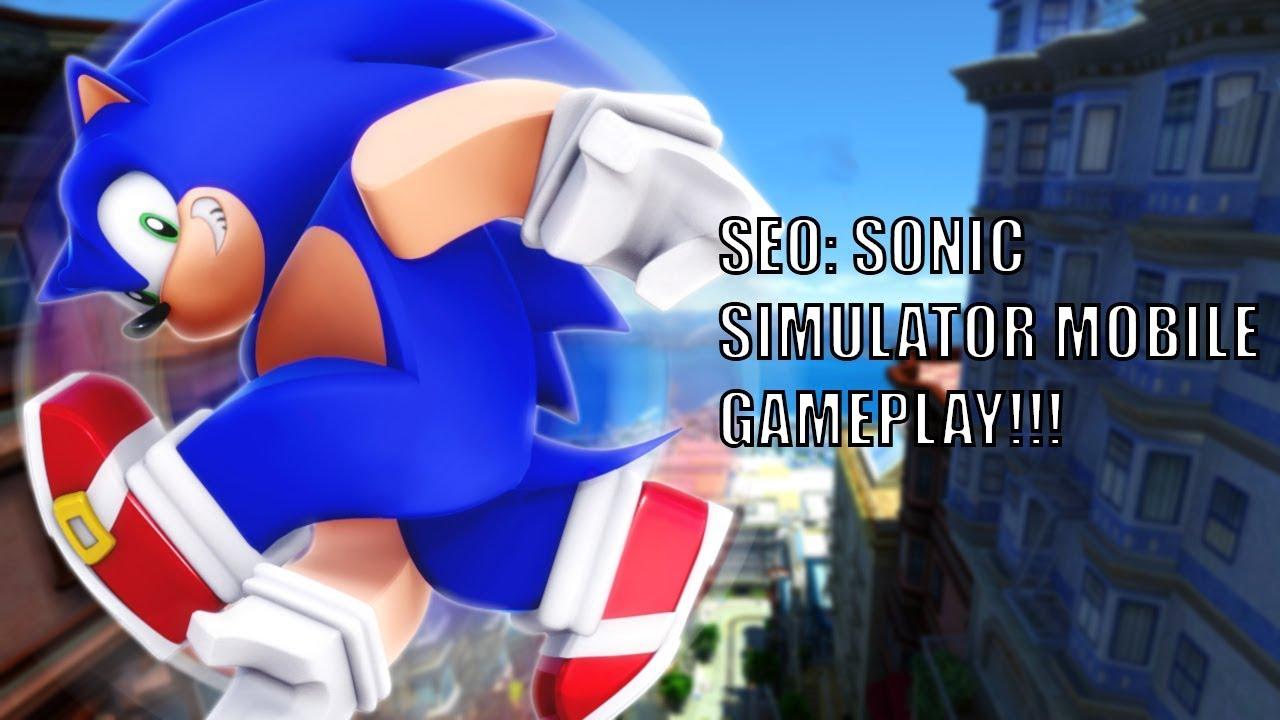 Roblox Seo Sonic Simulator