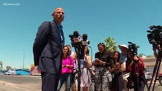 Stormy Daniel's lawyer, Michael Avenatti, representing migrant children Michael Avenatti was in Phoeni