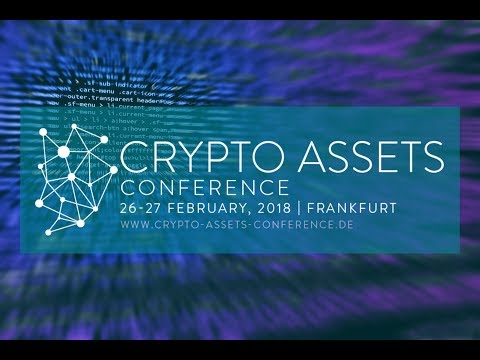 Prof. Dr. Philipp Sandner, Frankfurt School Blockchain Center // Crypto Assets Conference 2018