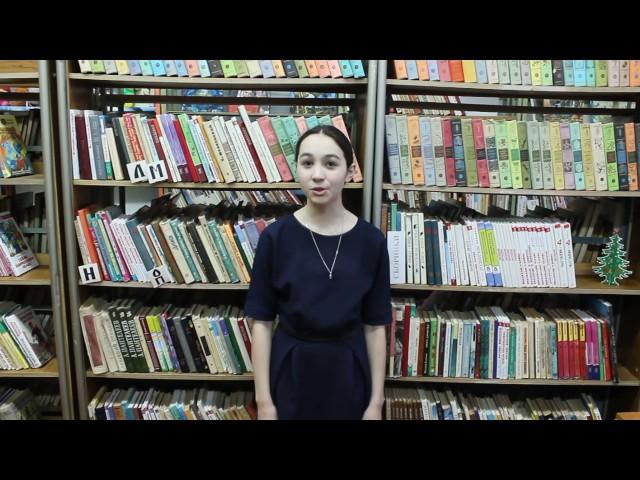 Изображение предпросмотра прочтения – ВалерияКрасильникова читает произведение «Девушка пела в церковном хоре» А.А.Блока