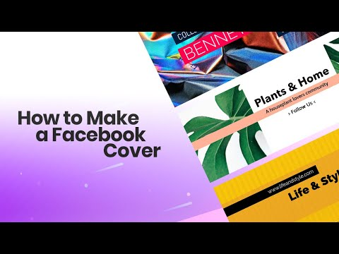How To Make A Facebook Cover Tutorial