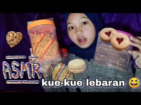 asmr kue-kue lebaran di rumah🙈 - youtube