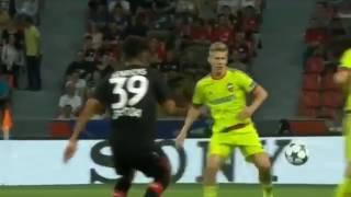 байер  ЦСКА 2:2 Видео обзор и голы матча. Лига Чемпионов 2016-17. 14.09.2016
