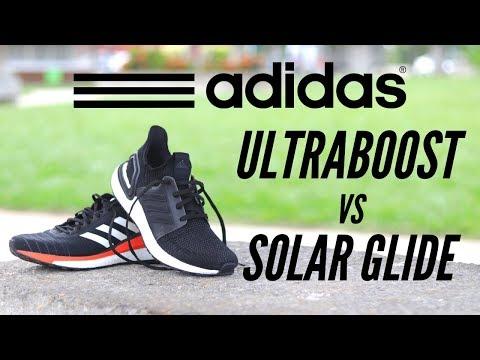 ADIDAS ULTRA BOOST vs SOLAR GLIDE   Review