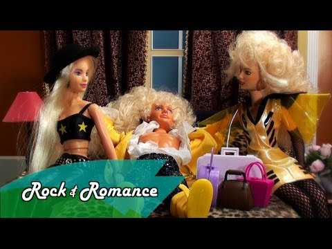 Jem and The Holograms The Movie with Dolls!  Tribute Jem Movie