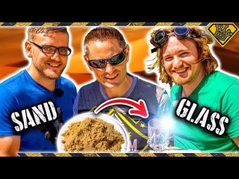 How To Turn SAND Into GLASS
