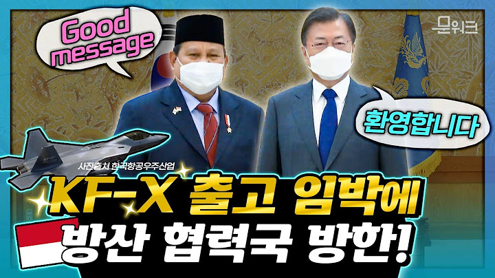 세계에서 한국산 무기를 가장 많이 사는 국가 중 한 곳! 문 대통령, 프라보워 인도네시아 국방장관 접견 풀스토리