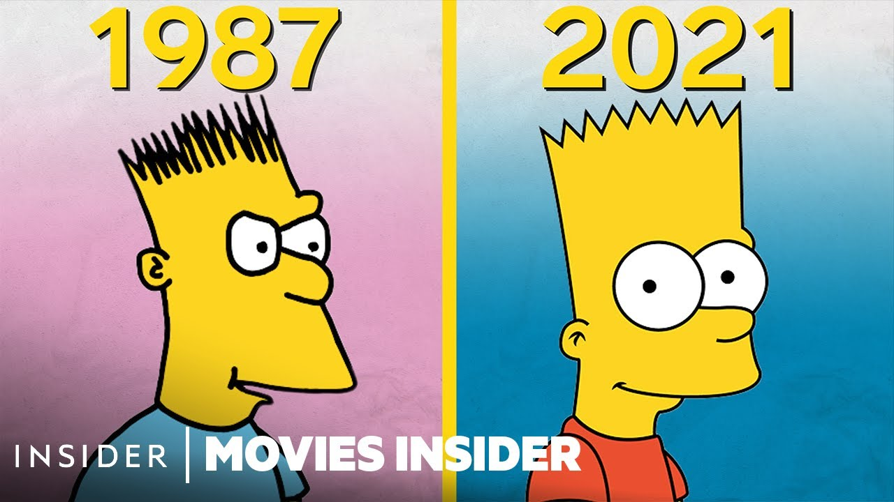 Download How 'The Simpsons' Animation Evolved Over 30 Years | Movies Insider