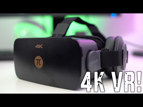 The $400 4K Virtual Reality PC Headset