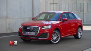 New audi Q2 - first test drive only sound