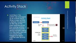 8 - Activity and Activity stack concepts (In Arabic)