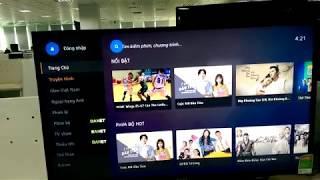 Test app FPTPlay Sony 40W650D