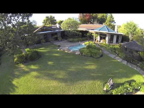 Aerial Tour of 1164 Napoli Drive in Palisades Riviera