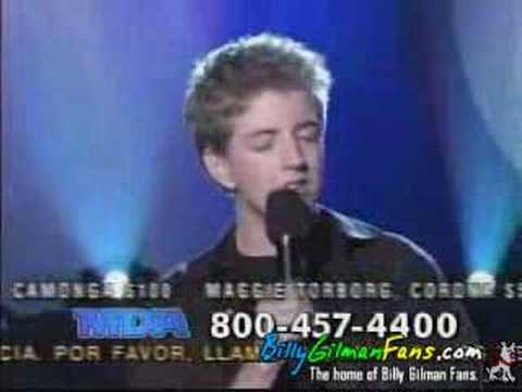 Billy Gilman - 2004 MDA Telethon - Everything and More