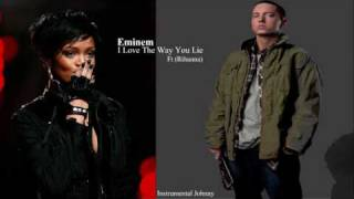 Eminem Ft (Rihanna) I Love The Way You Lie [INSTRUMENTAL]