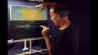 Oil Painting Seascape Florida Pastel Ocean Beach Volume 6 Lesson # 108