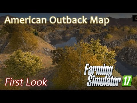American Outback Map - First look - Farming Simulator 17