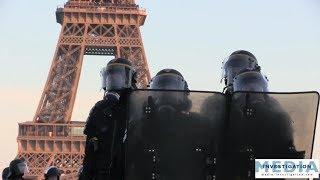 [Gilets jaunes ACTE 15] Violences, débordements, affrontements place du Trocadéro
