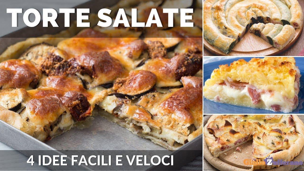 Torte salate veloci 4 ricette facili anche con pasta for Torte salate con pasta sfoglia