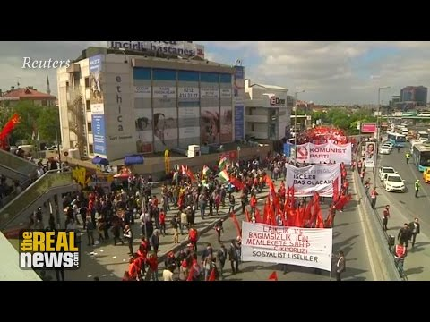 A Global Roundup of May Day Marches and Protests