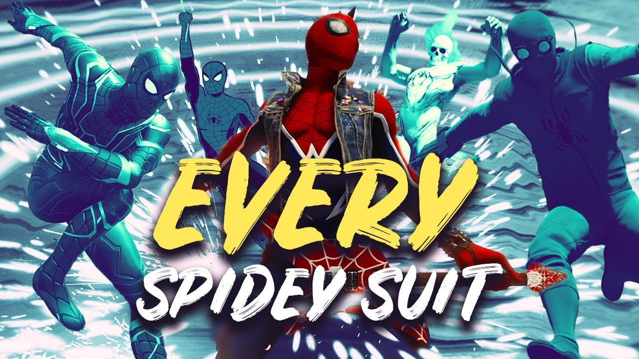 Marvel's Spider-Man - Every Spidey Suit and Power