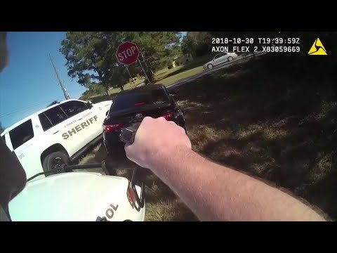 Coweta County Sheriff's Body Cam Footage Of High Speed Pursuit Through School Zone