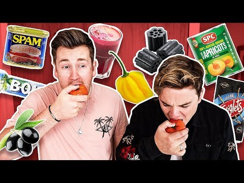 TRYING FOODS JACK MAYNARD HAS NEVER LIKED