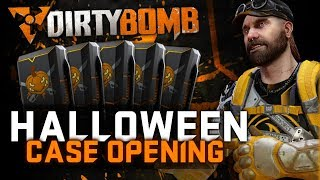 Dirty Bomb | 5x 100% Halloween Cases & Gameplay