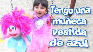 Canciones Infantiles - TENGO UNA MUÑECA VESTIDA DE AZUL (Songs for kids in Spanish) Little Dubbi