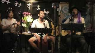 "this group ""mimisuma"" Acoustic band in Okinawa mimisuma live at Art..."