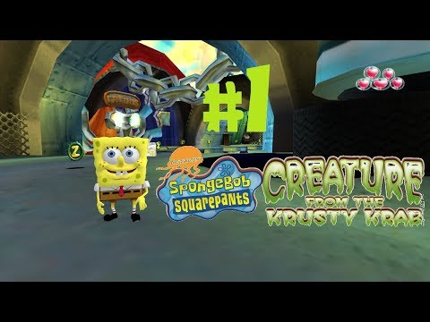 SpongeBob Creature From The Krusty Krab - Level 1 (Diesel Dr