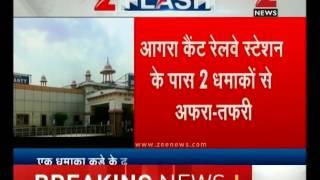 Two low intensity blasts near Agra Cantt railway station