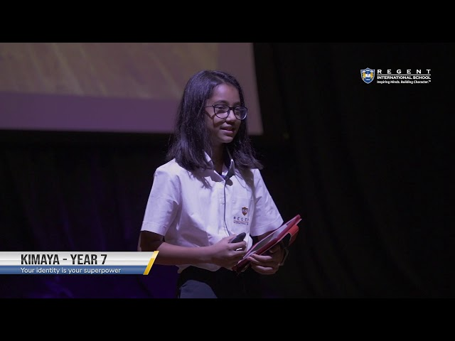 Your Identity is your Superpower by Kimaya | Year 7 at TEDxSunmarke