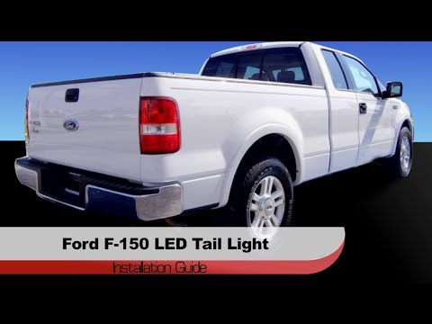 spyder auto installation 2004 2008 ford f 150 led tail. Black Bedroom Furniture Sets. Home Design Ideas